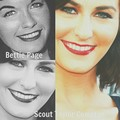 Scout and Bettie look alike - scout-taylor-compton fan art