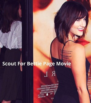 Scout for a Bettie Page Movie!