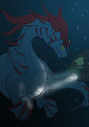 Sea Dragon Undyne