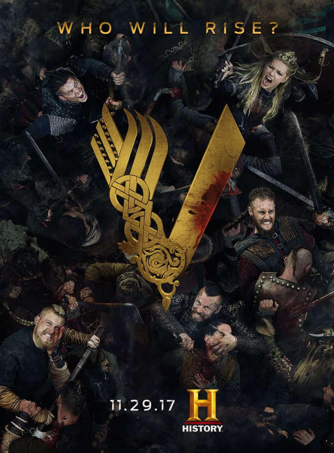 Vikings Tv Series Images Season 5 Promotional Poster Hd Wallpaper