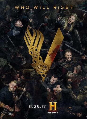 vikings (serial tv) wallpaper called Season 5 Promotional Poster
