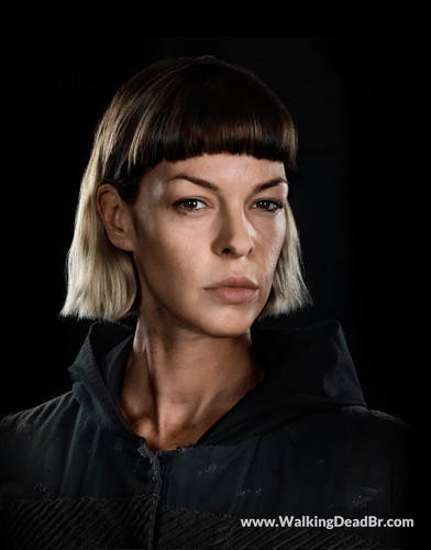 The Walking Dead karatasi la kupamba ukuta entitled Season 8 Character Portrait #1 ~ Jadis
