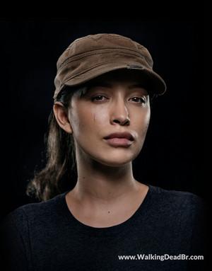 Season 8 Character Portrait #1 ~ Rosita