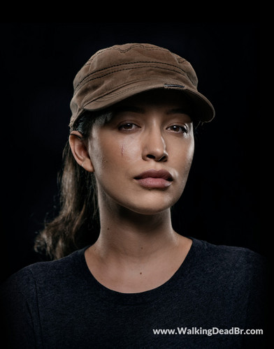 ウォーキング・デッド 壁紙 called Season 8 Character Portrait #1 ~ Rosita