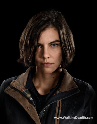The Walking Dead karatasi la kupamba ukuta titled Season 8 Character Portrait #1 ~ Maggie