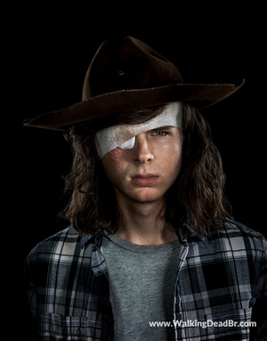 Season 8 Character Portrait #1 ~ Carl