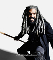 Season 8 Character Portrait #3 ~ Ezekiel - the-walking-dead photo
