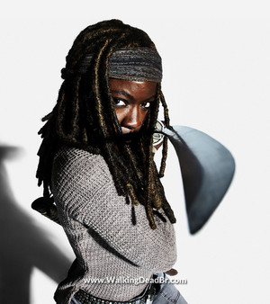 Season 8 Character Portrait #3 ~ Michonne
