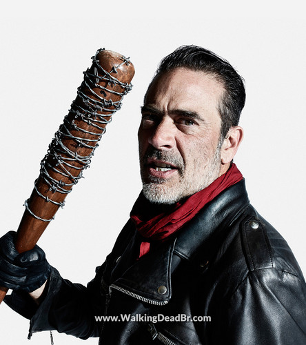 The Walking dead wallpaper entitled Season 8 Character Portrait #3 ~ Negan
