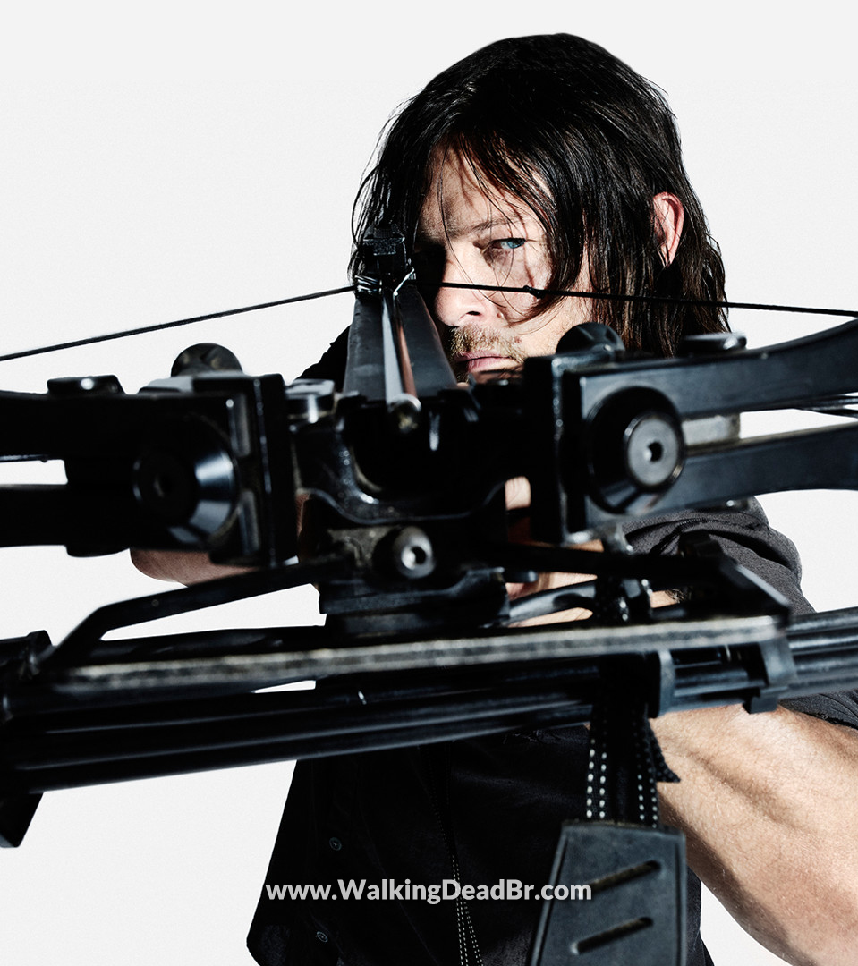 Season 8 Character Portrait #3 ~ Daryl