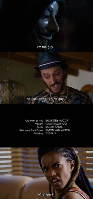 Sense8 doing the thing in the End Credits
