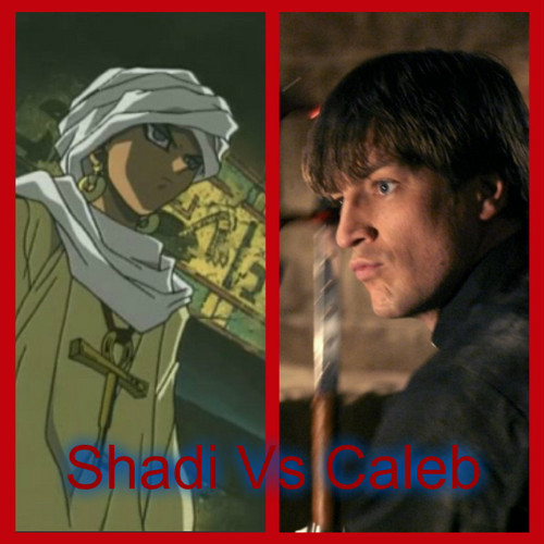 Crossover Fanfiction wallpaper titled Shadi Vs Caleb