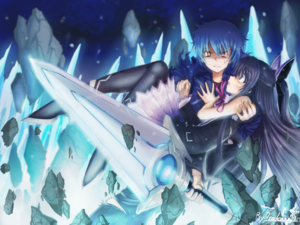 Shido and Tohka