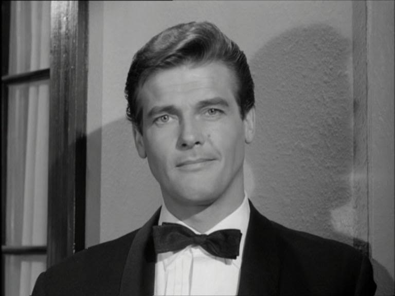 Image result for roger moore the saint