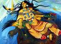 Sky Woman by Bruce King (Oneida)