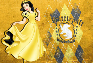 Snow White in Hufflepuff