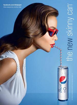 Sofia Vergara Diet Pepsi Ads