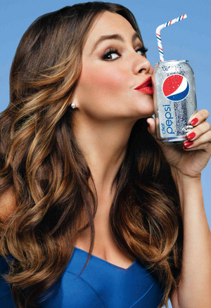Sofia Vergara Diet Pepsi Ads