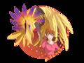 Sora and Phoniexmon - digimon photo
