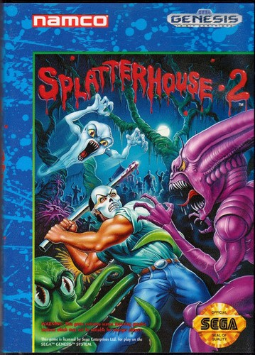 Video Games wallpaper titled Splatterhouse 2 (us cover)