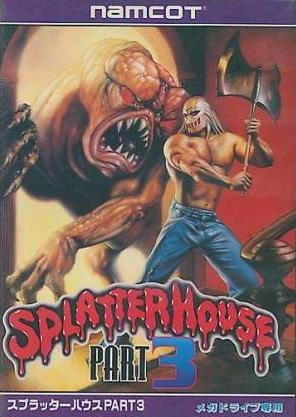 Video Games wallpaper titled Splatterhouse part 3 (front)