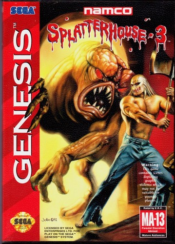Video Games wallpaper entitled Splatterhouse 3 (us cover)