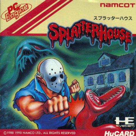 비디오 게임 바탕화면 entitled Splatterhouse (Front)