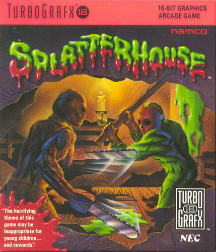 Video Games wallpaper titled Splatterhouse (Front)