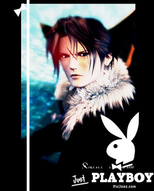 Squall Leonhart l'amour Playboy