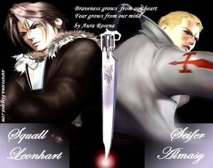 Squall Leonhart VS Seifer Almasy