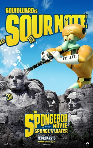 Squidward in SpongeBob: Sponge Out Of Water