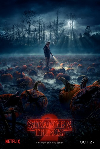 Stranger Things fond d'écran entitled Stranger Things 2 Poster