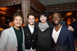 Stranger Things Cast at EW's 2017 Emmy Awards Pre-Party