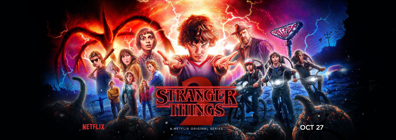 Stranger Things - Season 2 Banner