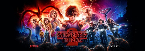 Stranger Things achtergrond called Stranger Things - Season 2 Banner