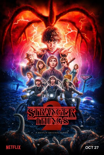 Stranger Things fondo de pantalla called Stranger Things - Season 2 Poster