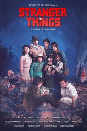 """Stranger Things Season 2 """"The Goonies"""" Movie Inspired Poster"""