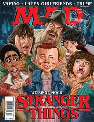 Stranger Things at Mad Magazine