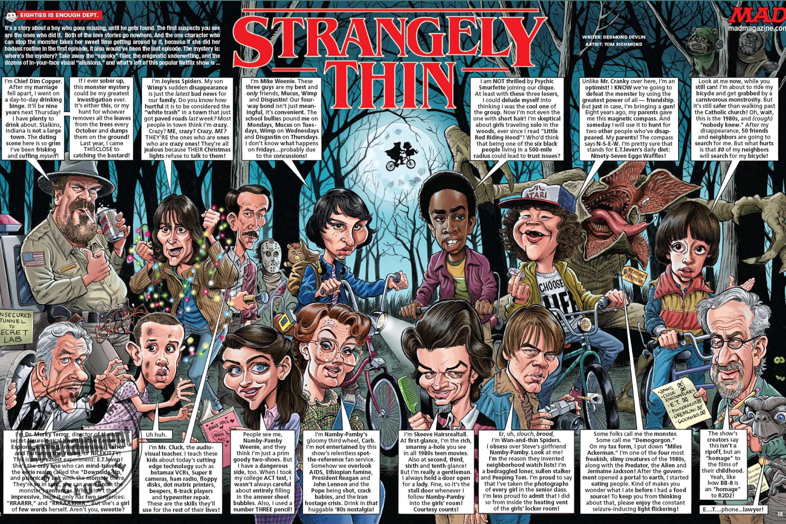 Stranger Things at Mad Magazine