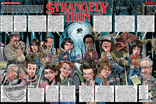 Stranger Things achtergrond entitled Stranger Things at Mad Magazine