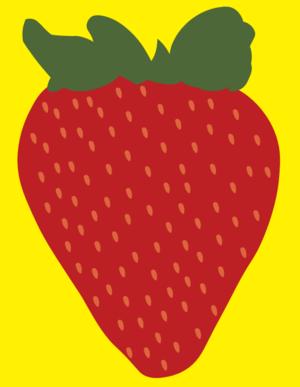 딸기 illustration
