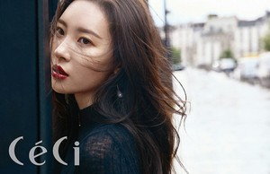 Sunmi for L'Oréal Paris X CeCi Magazine November Issue