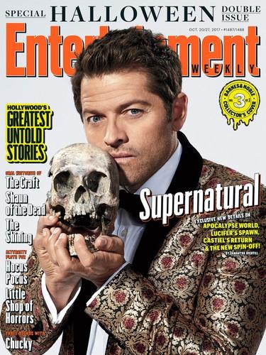 Supernatural kertas dinding titled Supernatural - EW Magazine