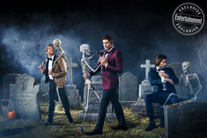 supernatural - Season 13 - EW Magazine Stills