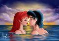 Sweethearts - disney fan art