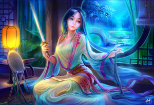 Sword Night -  Mulan