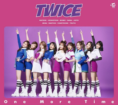 Twice (JYP Ent) wallpaper titled TWICE 'One More Time'
