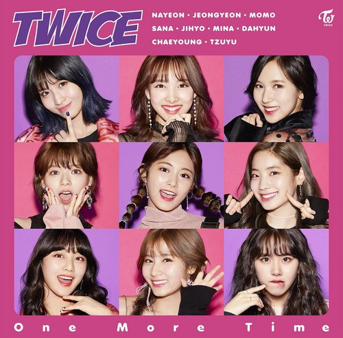 Twice (JYP Ent) Hintergrund entitled TWICE 'One Mehr Time'