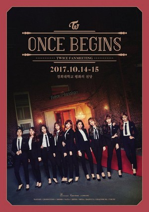 TWICE is sexy in black for 'Once Begins' group teaser image