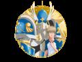 Takeru and Seraphimon - digimon photo
